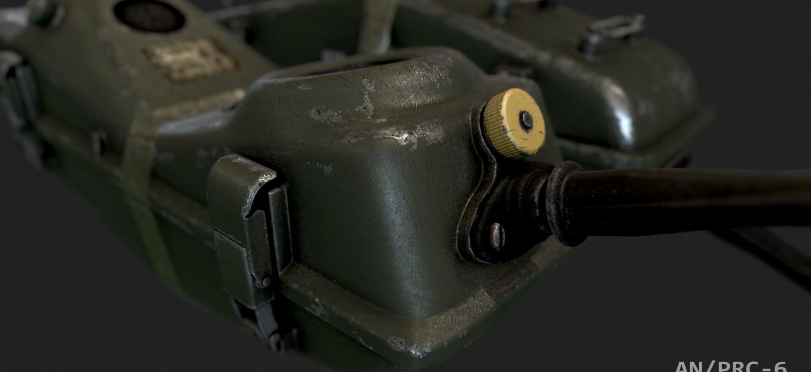 AN/PRC Military radio 1.
