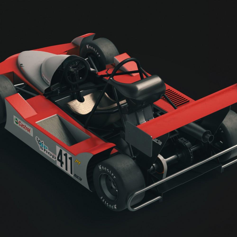 Big Racing Cart