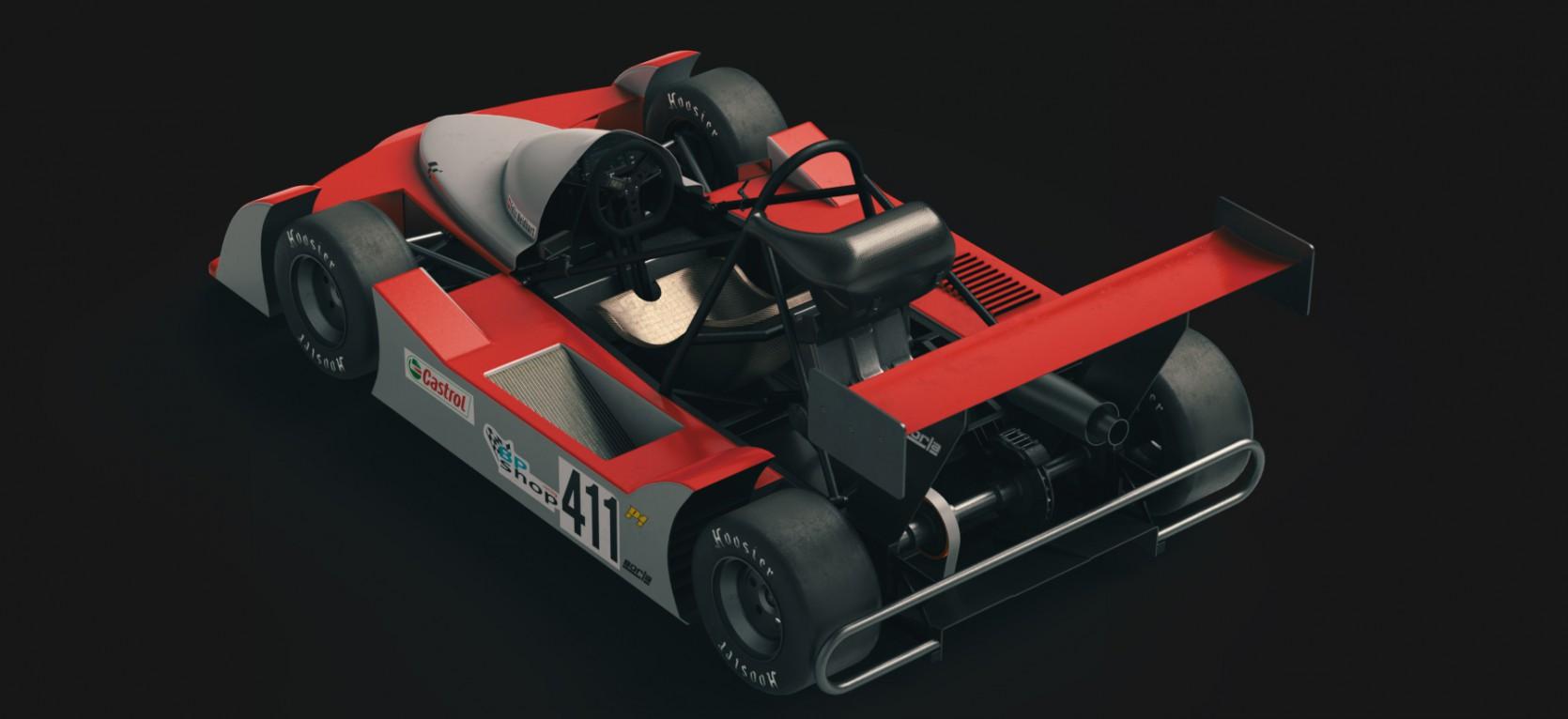 Big Racing Cart 1.