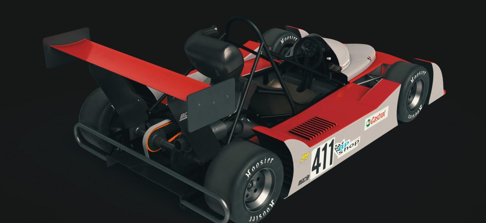 Big Racing Cart 2.