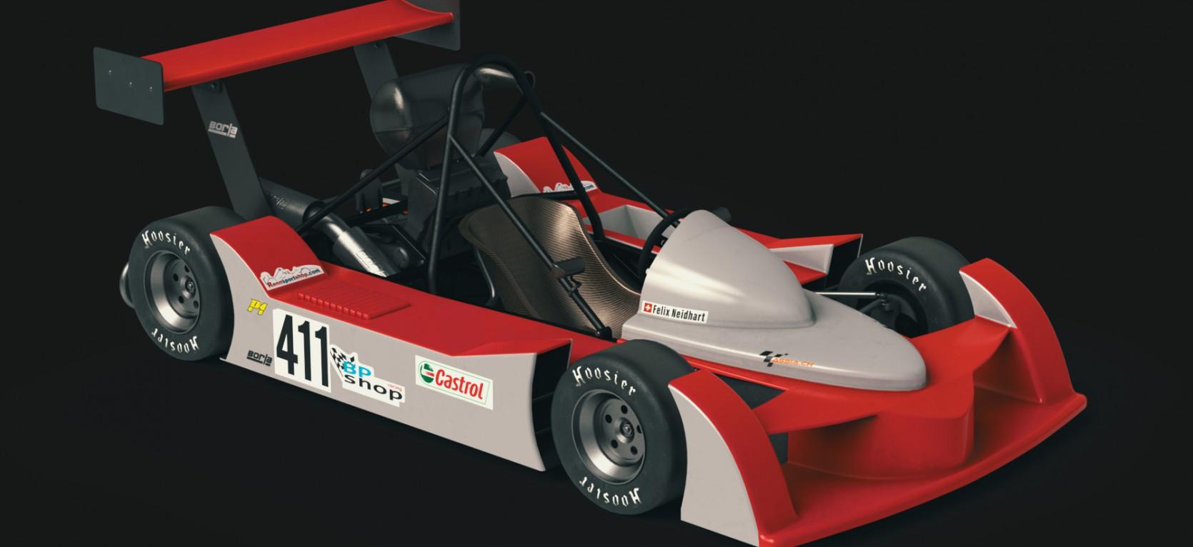 Big Racing Cart 3.