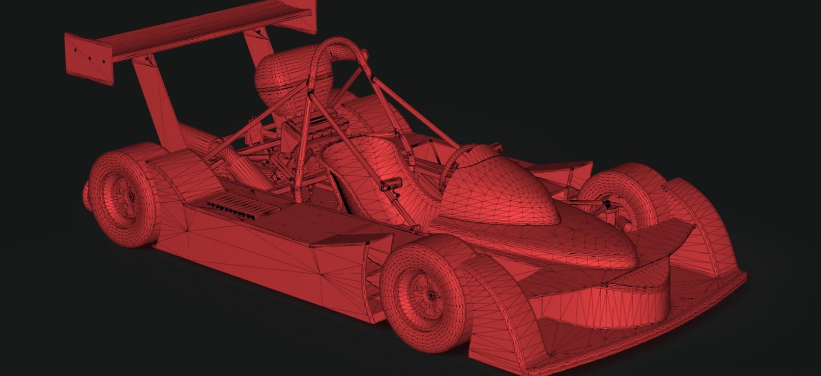Big Racing Cart 4.