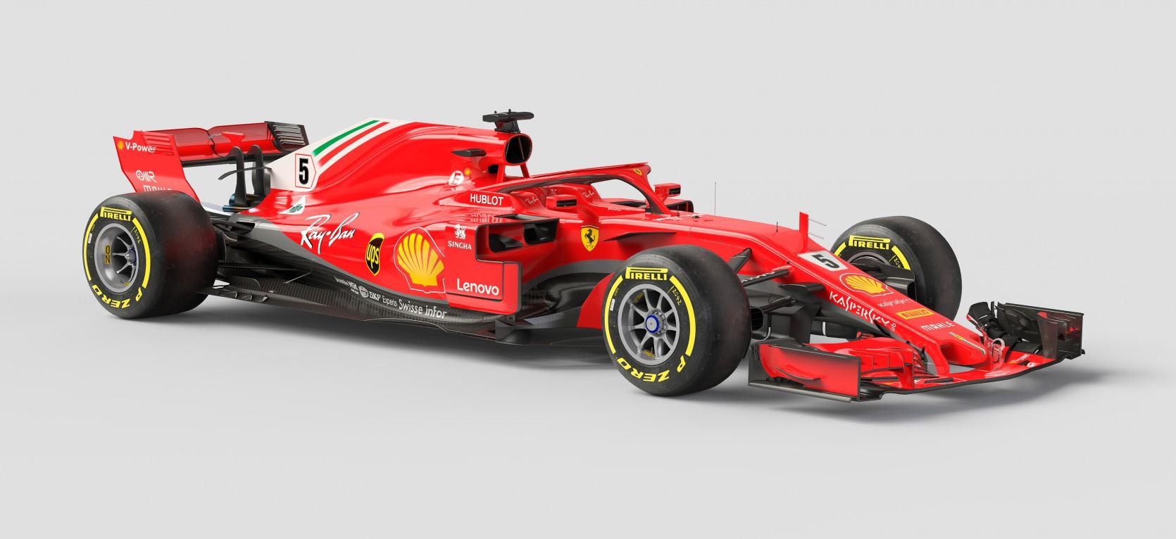 F1 Ferrari SF71H 1.