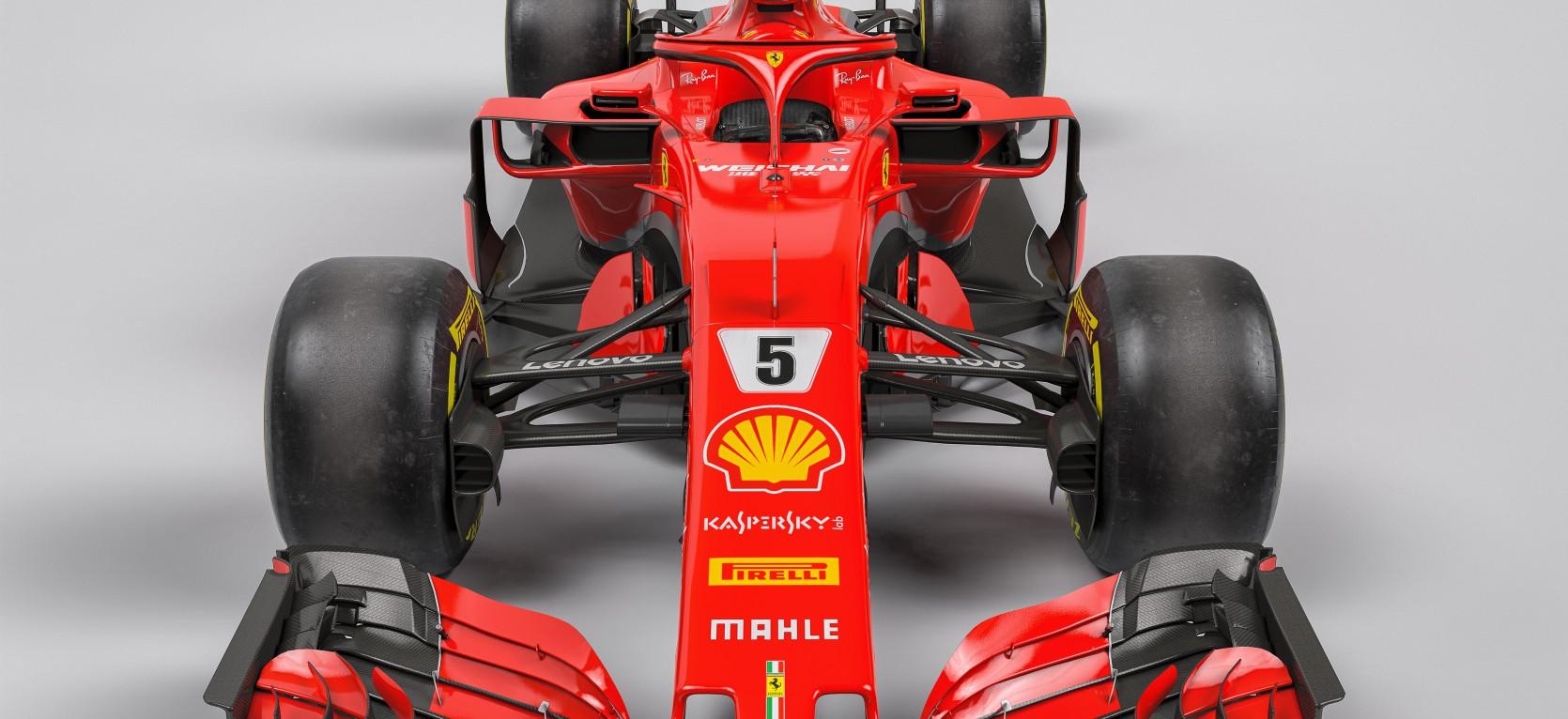 F1 Ferrari SF71H 2.
