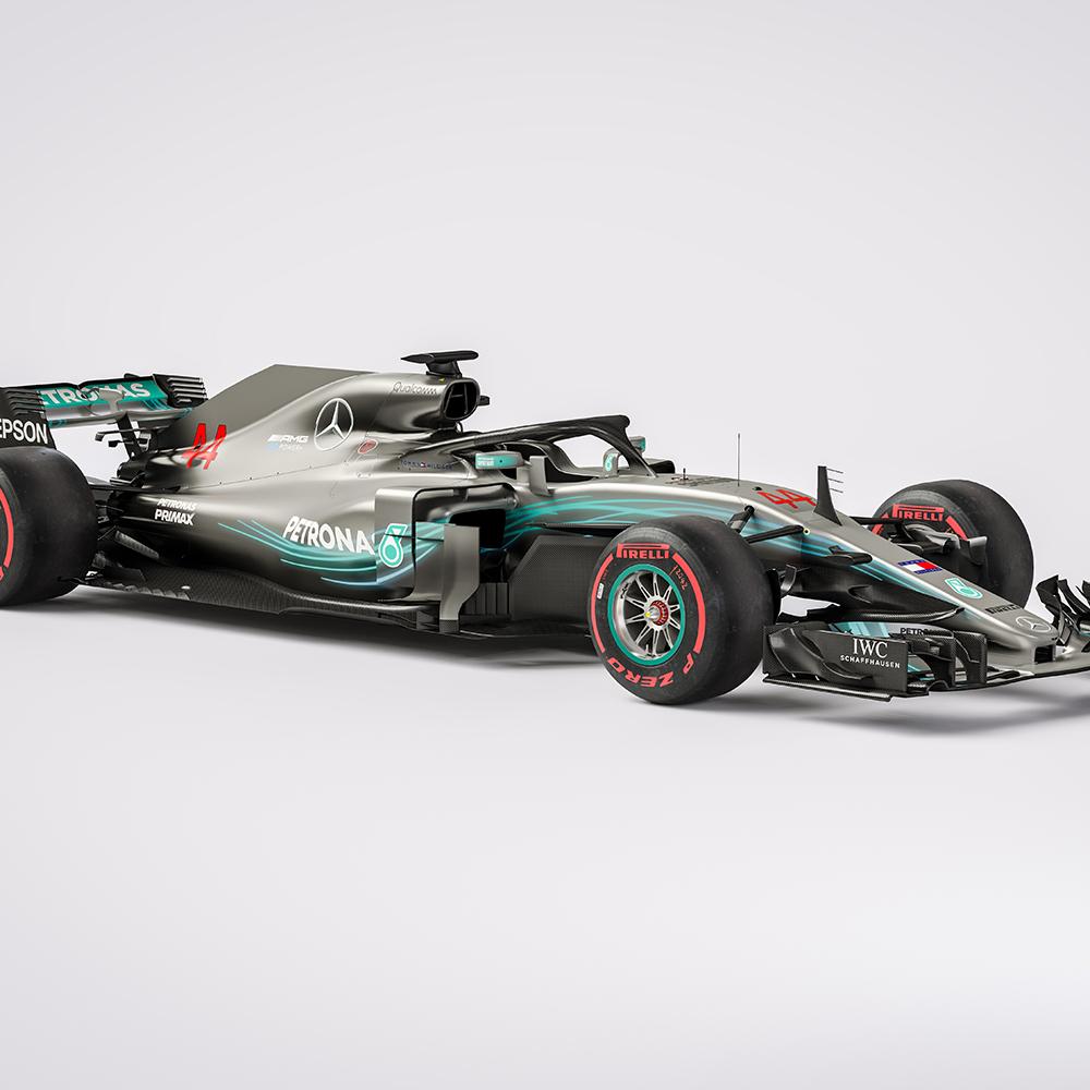 F1 Mercedes W09