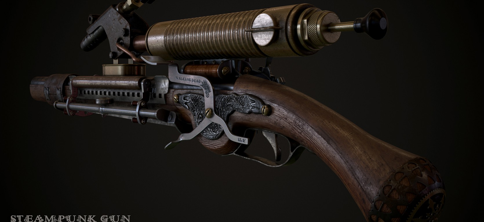 Steampunk Gun 1.