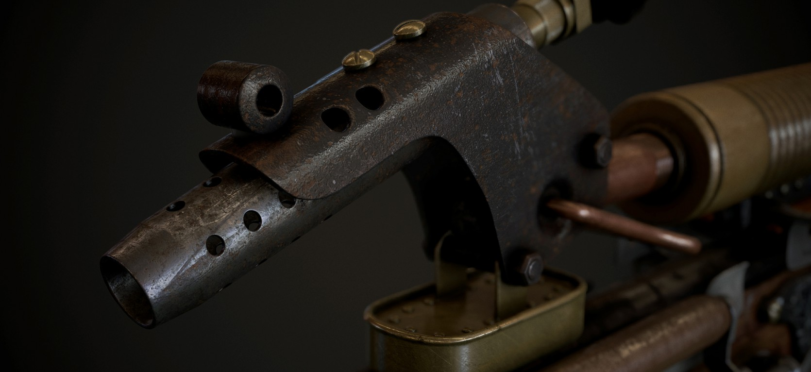 Steampunk Gun 2.