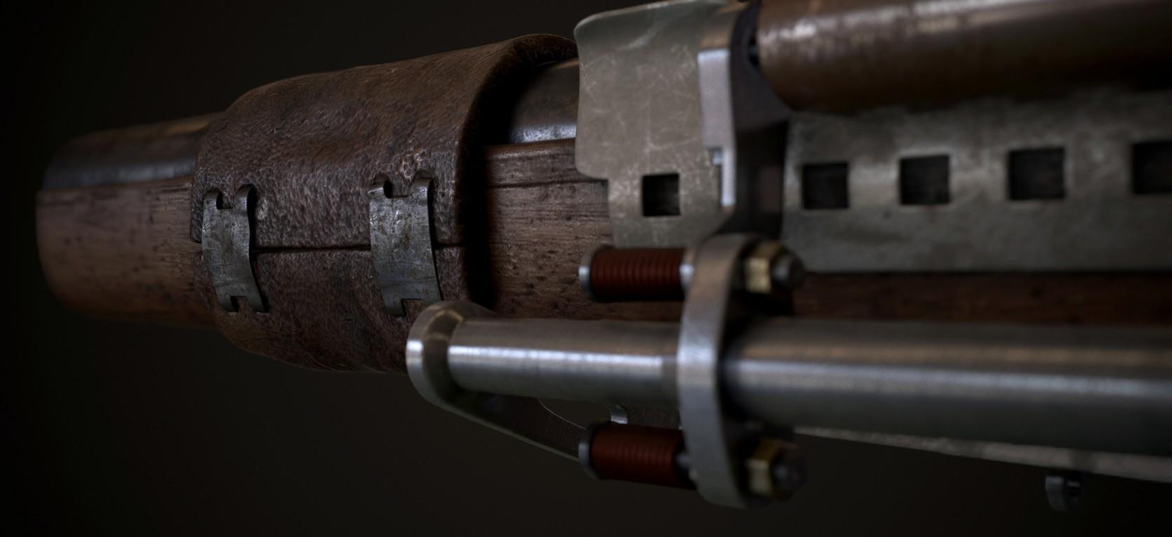 Steampunk Gun 3.