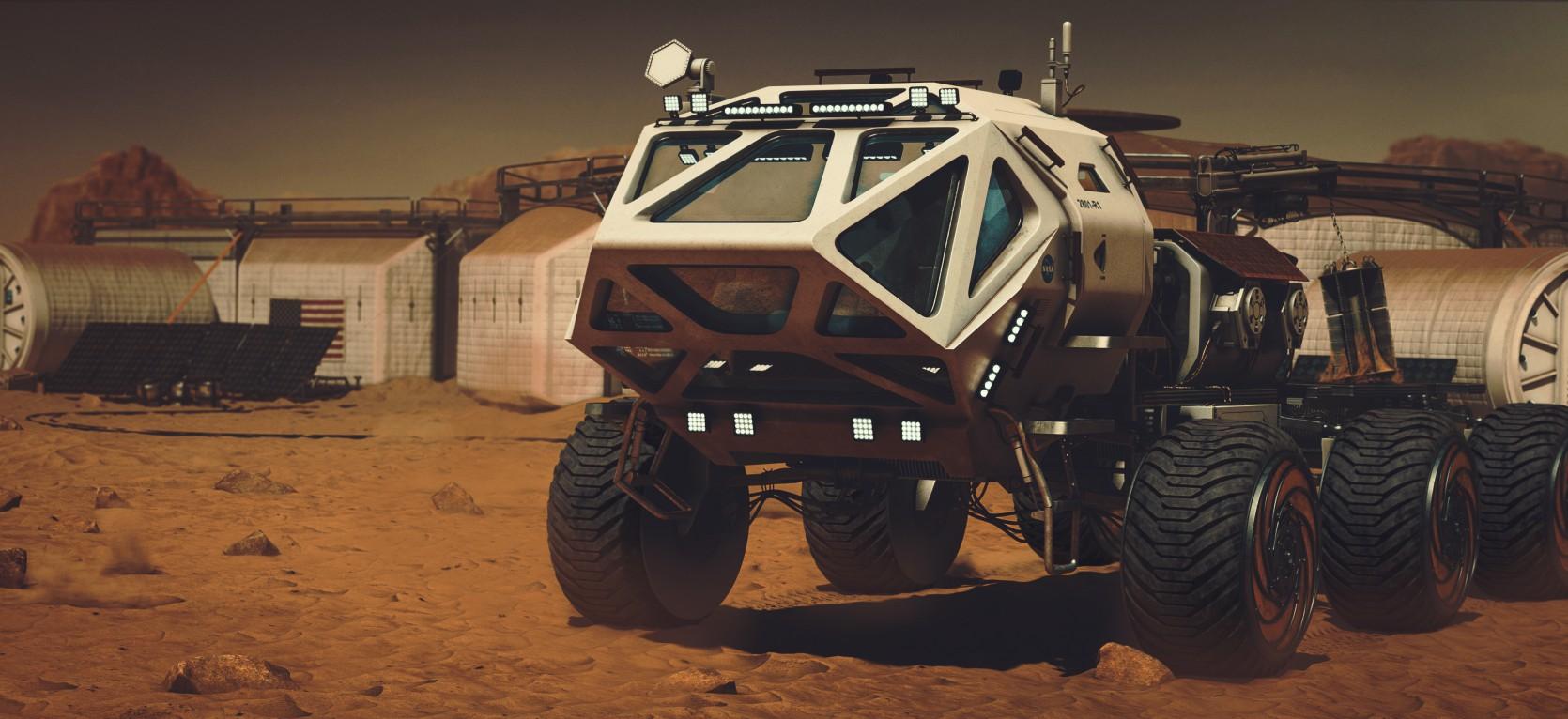 The Martian Rover 1.