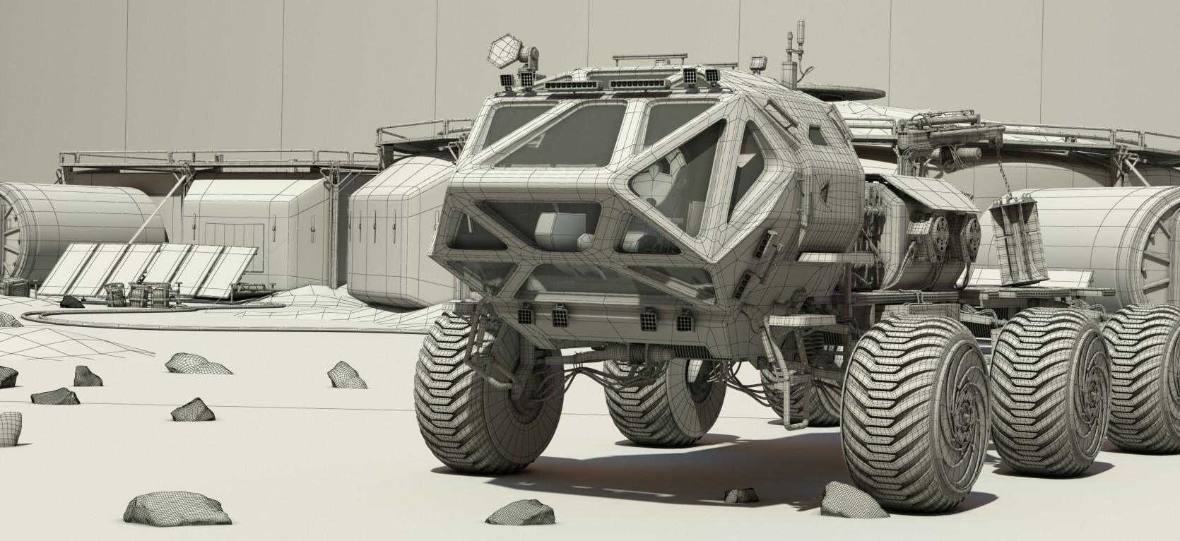 The Martian Rover 2.