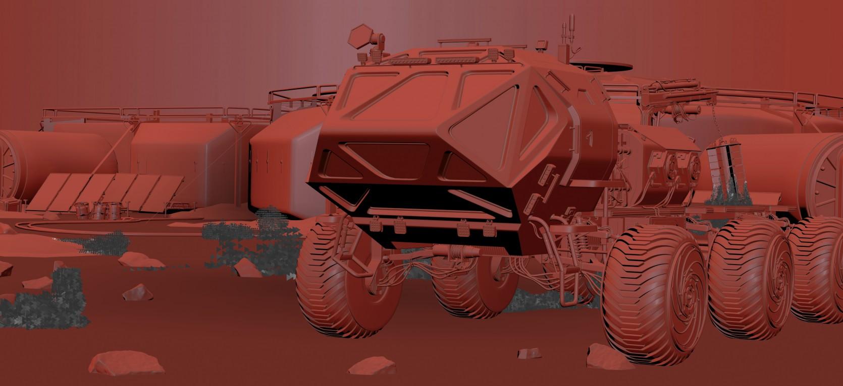 The Martian Rover 3.