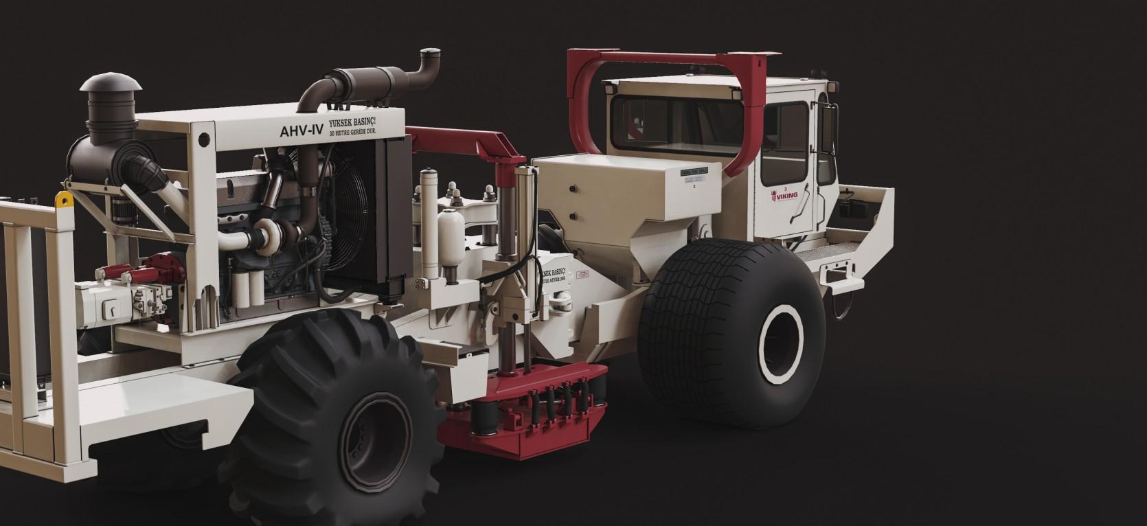 Viking Acoustical Vehicle 1.